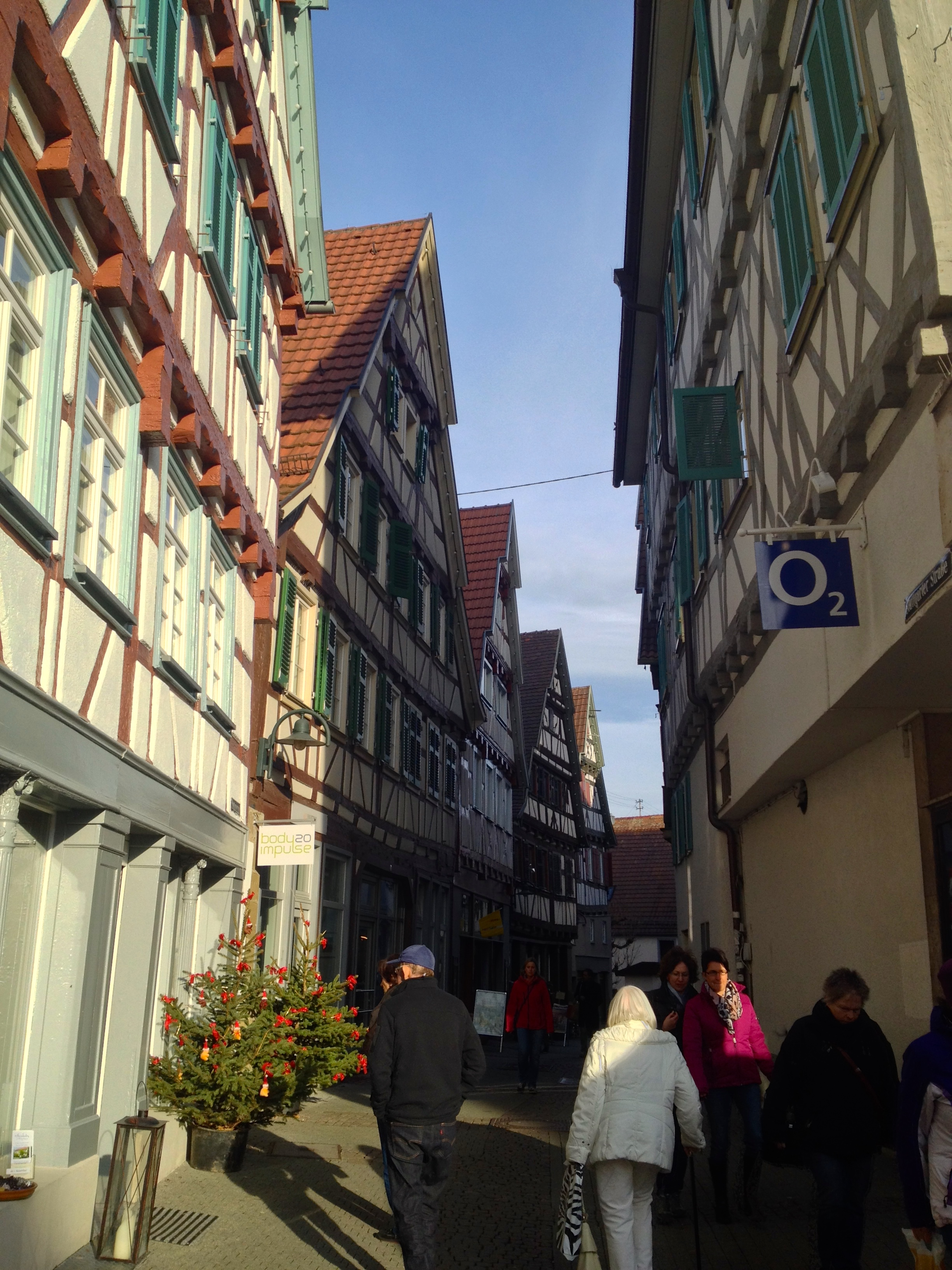 Along the streets of Herrenberg
