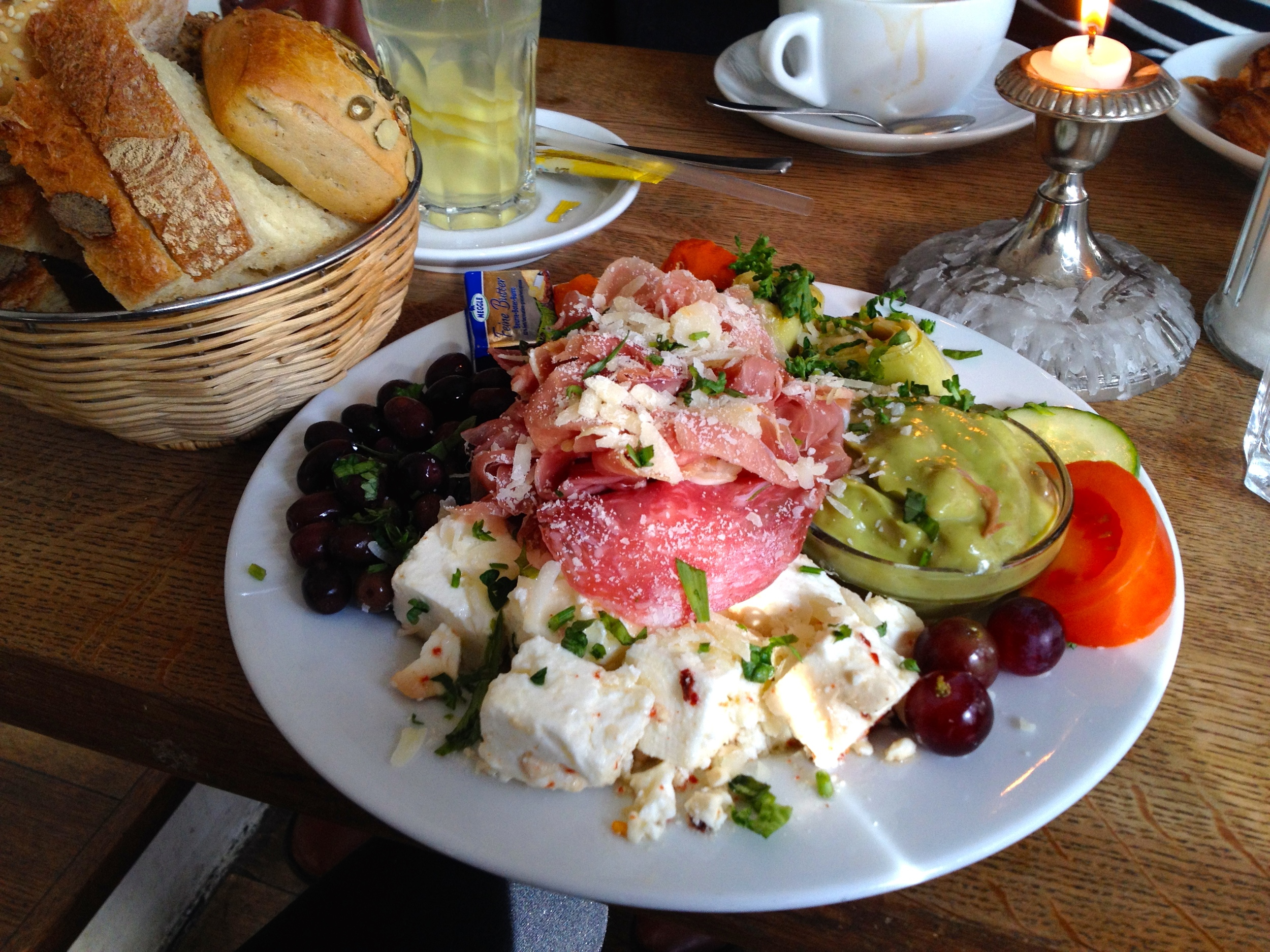 My Mediterranean breakfast platter
