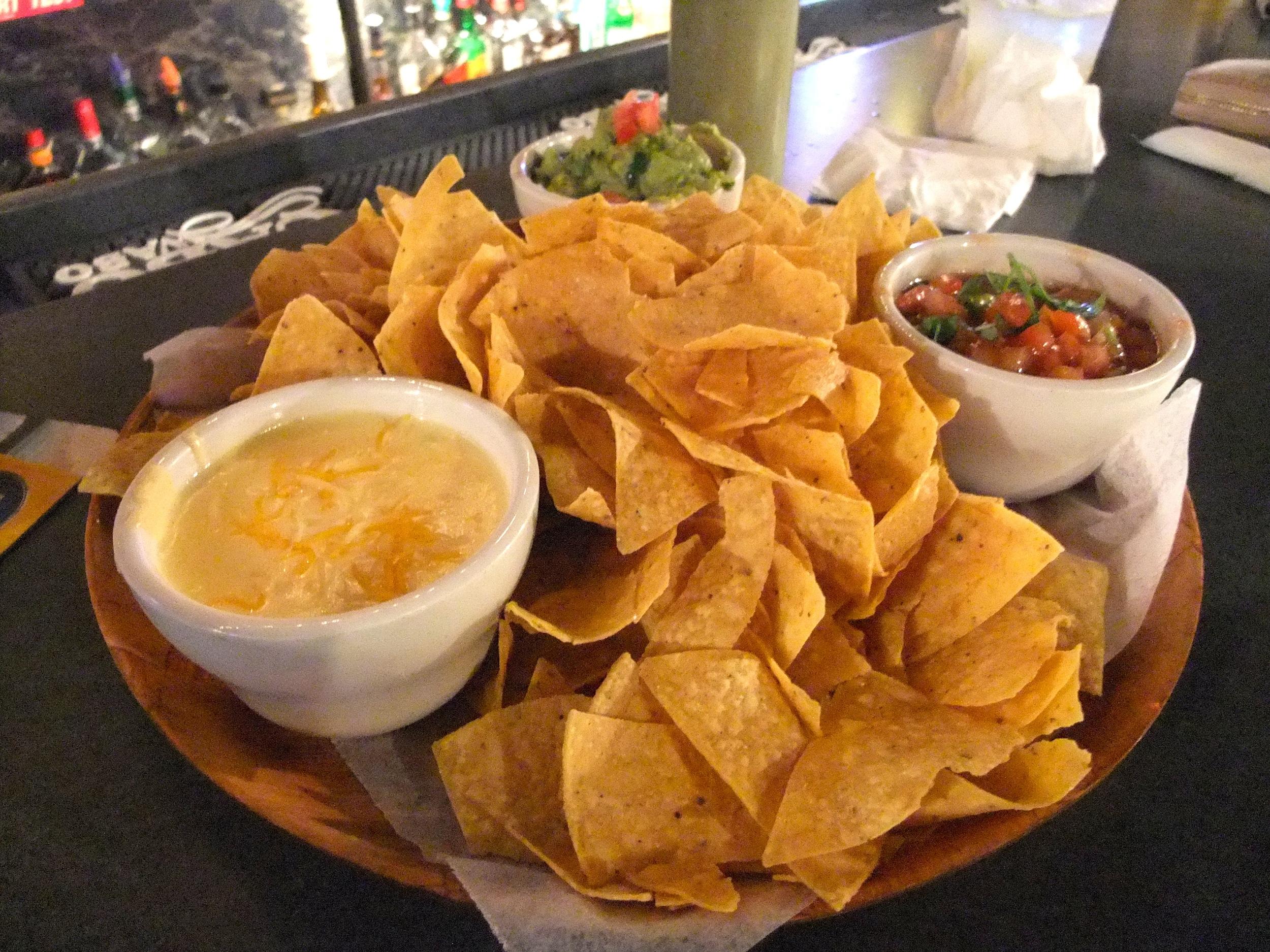 Chips and dips at VIP