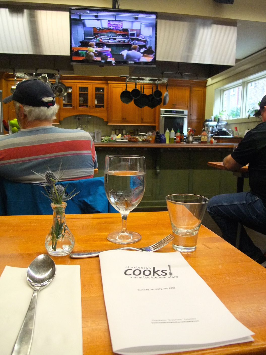 Our class at Charleston Cooks!