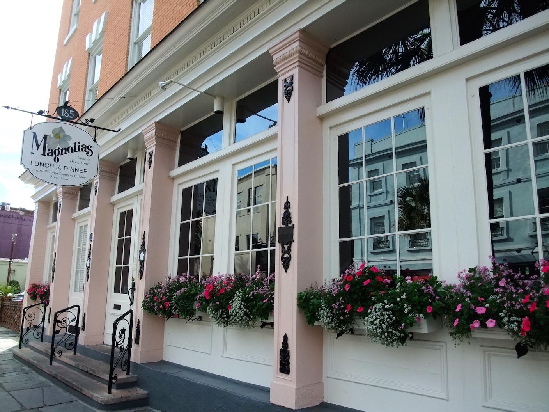 Magnolias on East Bay Street