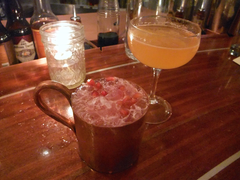 My Monticello Mule in a copper mule cup