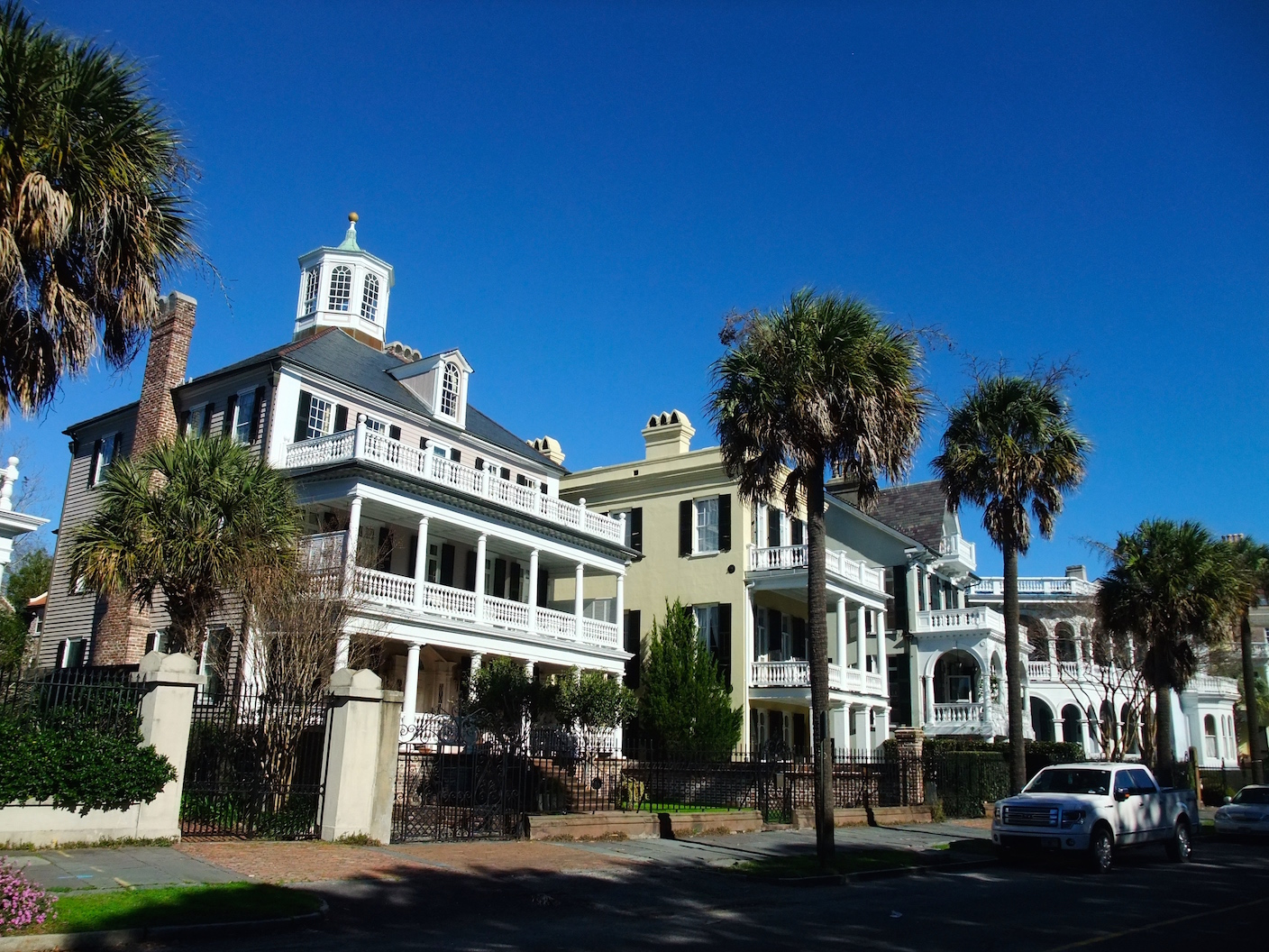 Mansions along The Battery