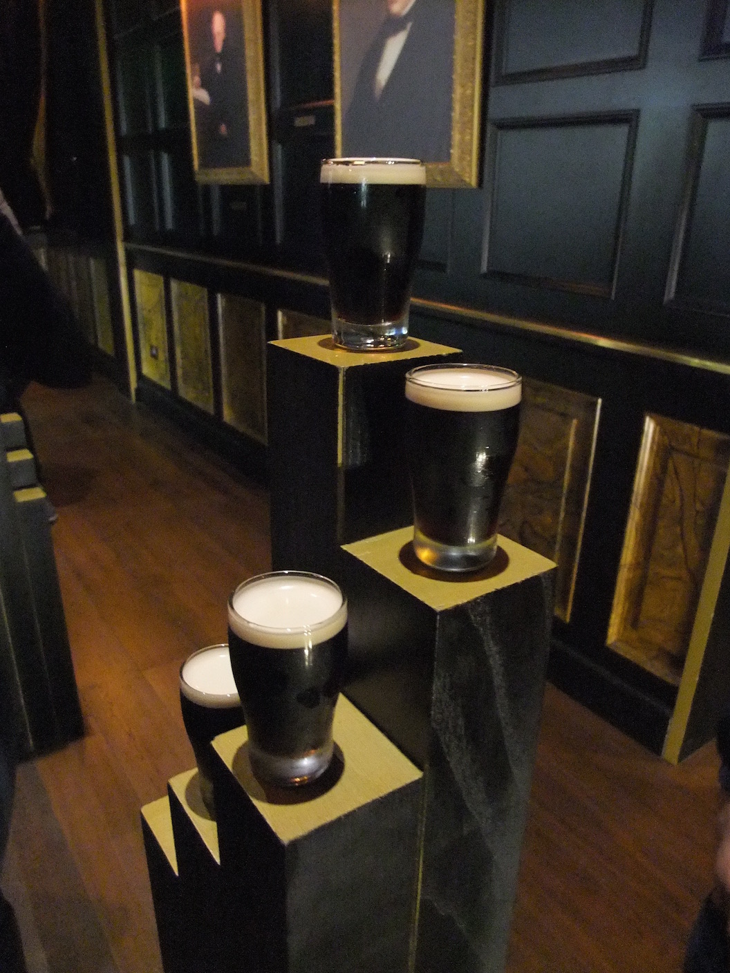 Tasting Guinness at the Guinness Experience