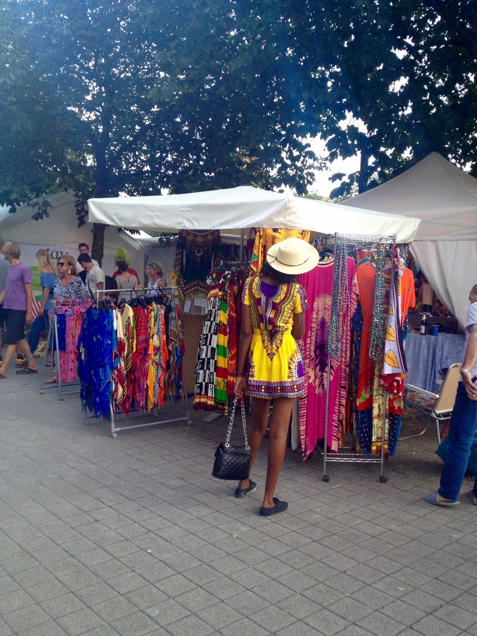 Colorful dressing and shirts for sale