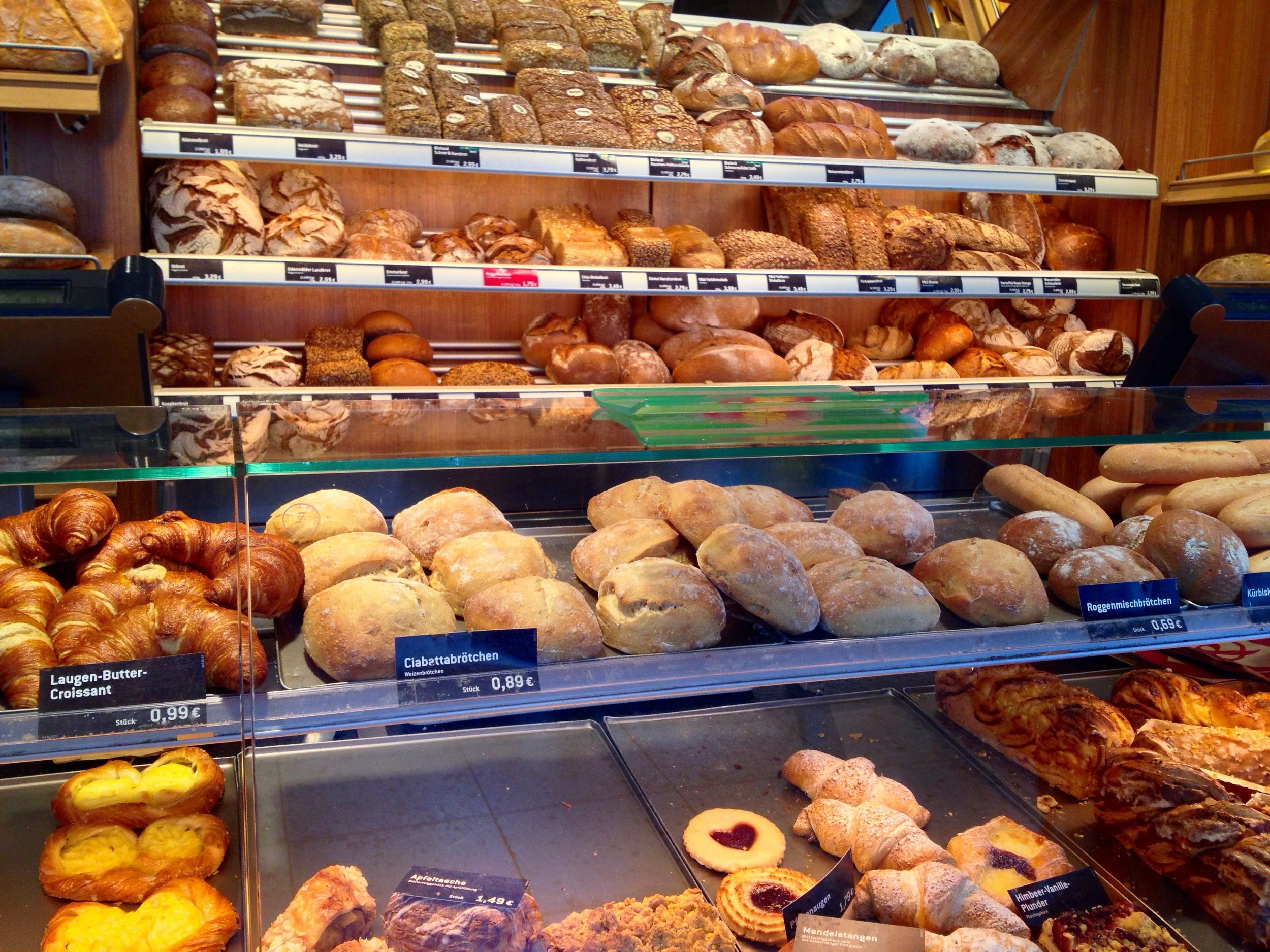 Half of our bakery