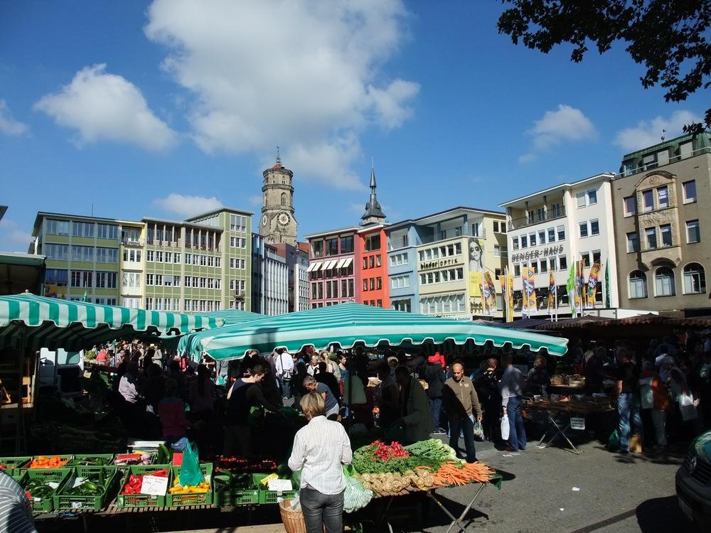 Stuttgart's weekly market