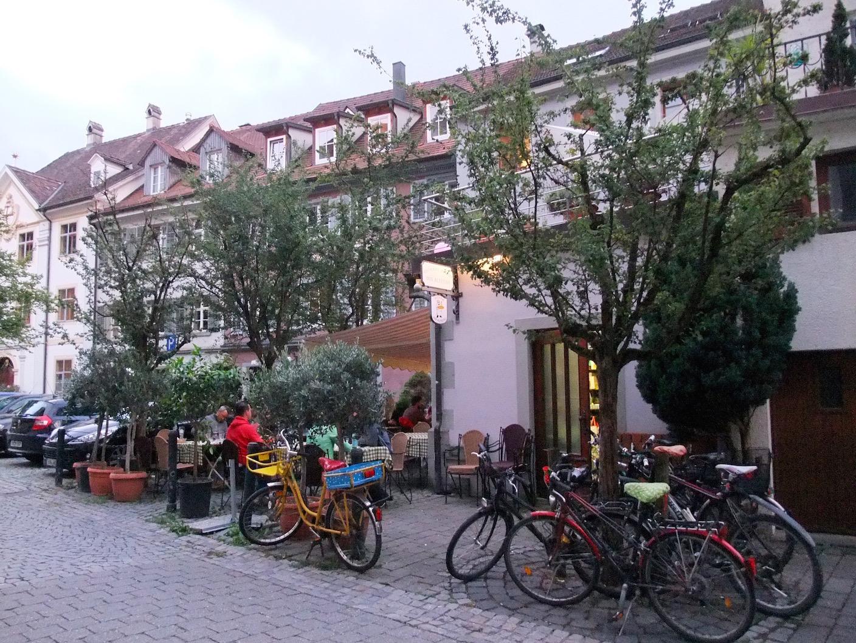 The patio at Ristorante Don Alfredo