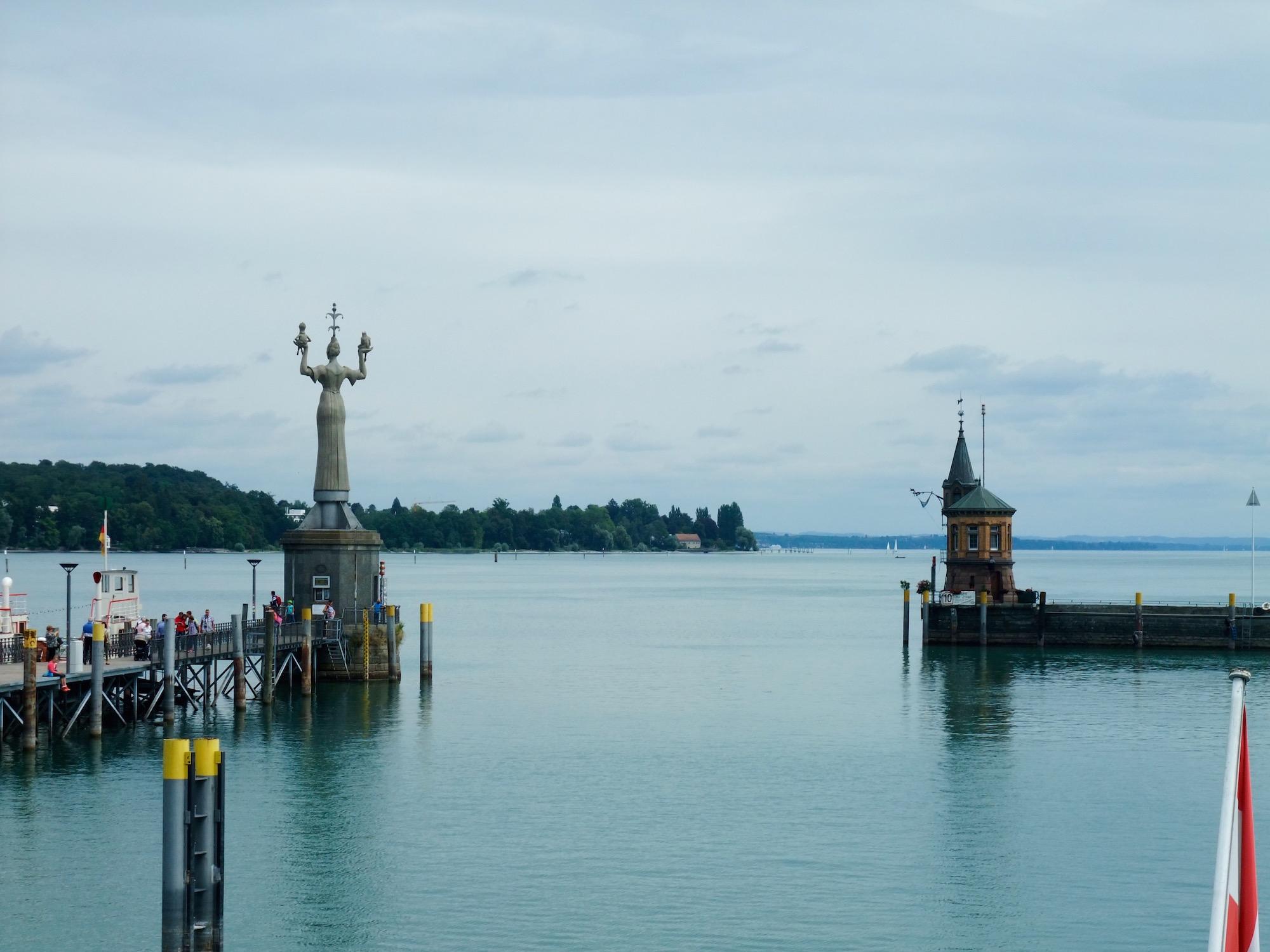 Konstanz harbor