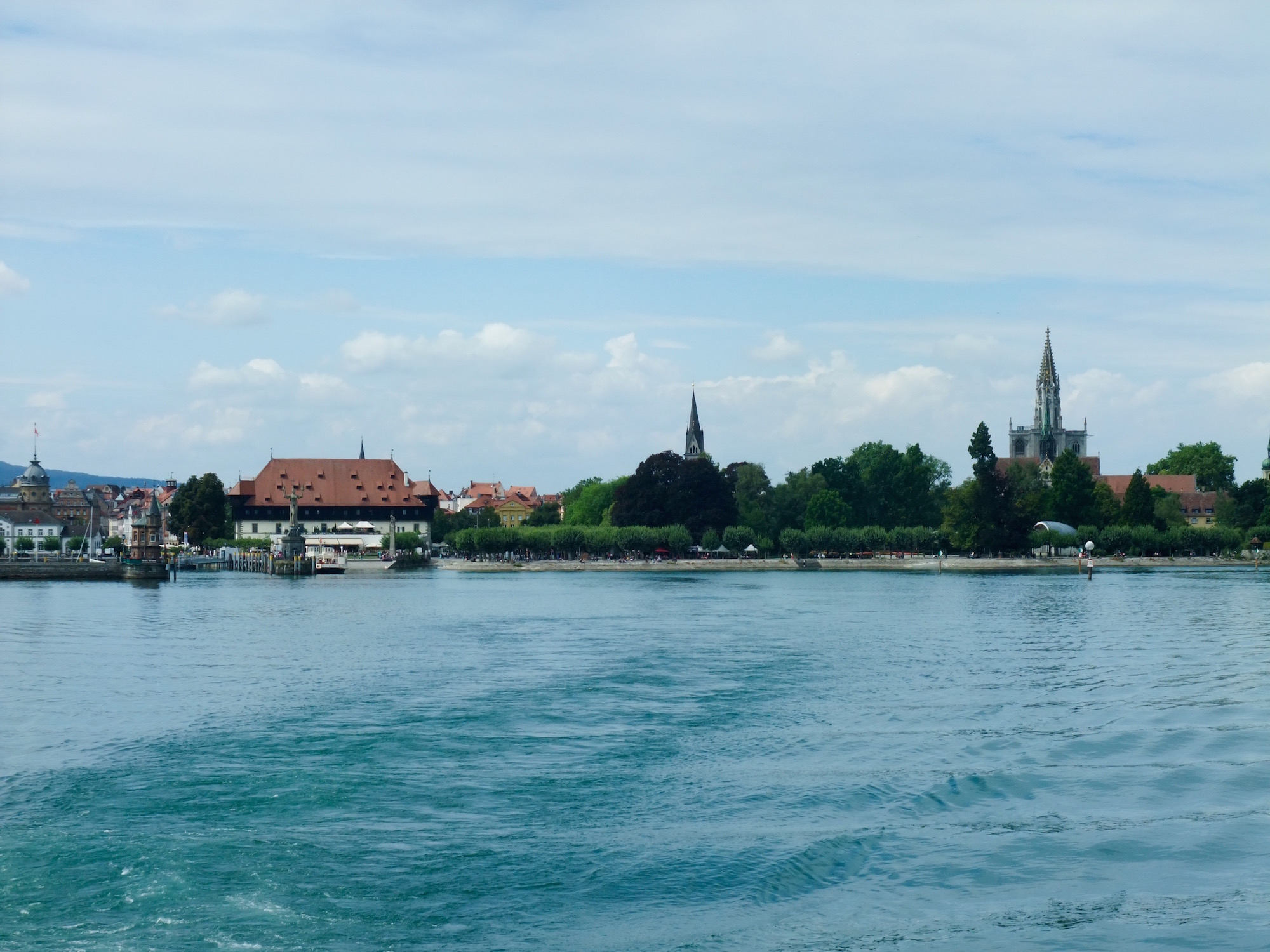 Leaving  Konstanz