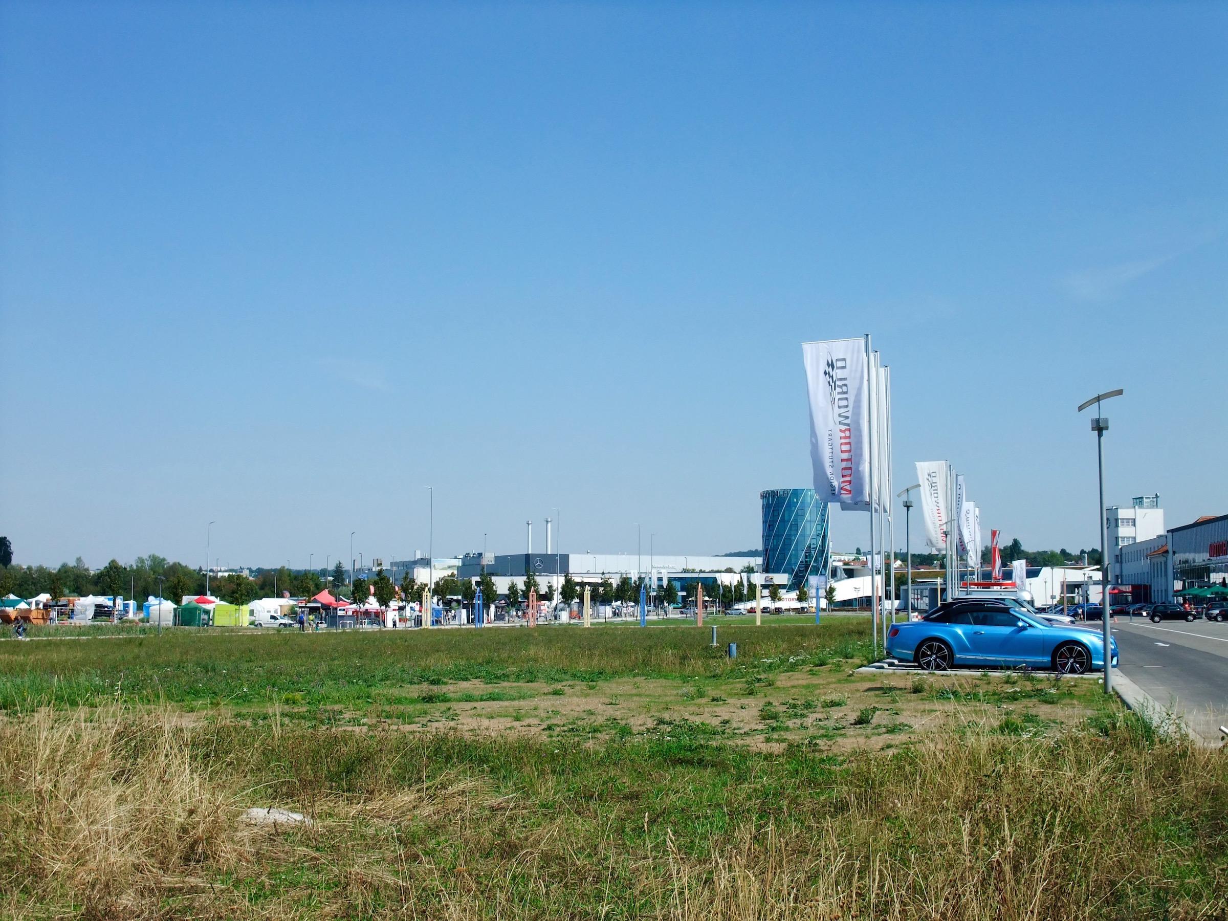 The airfield at  Böblingen
