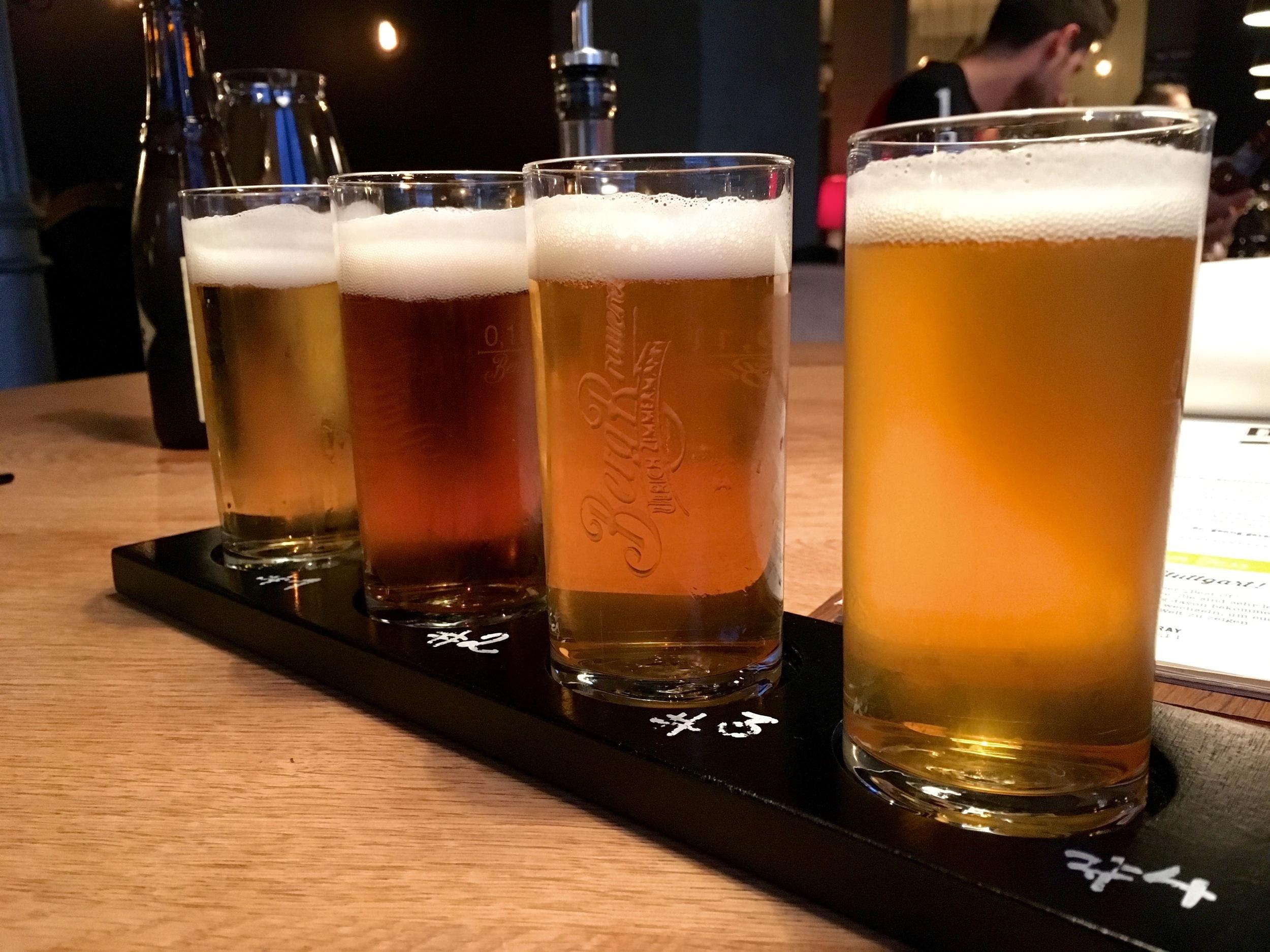 Beer Tasting Tray at 87