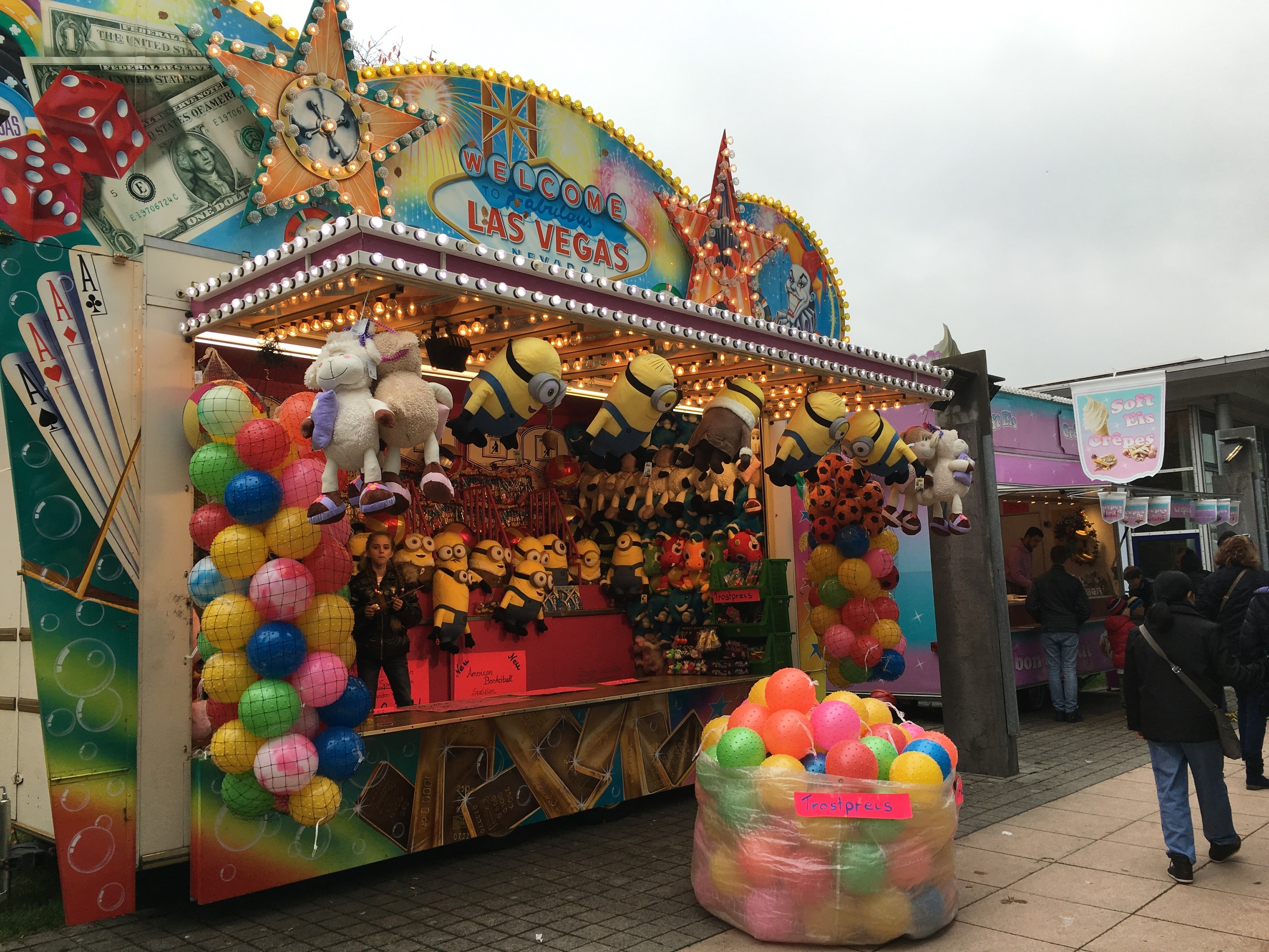 American-style carnival games