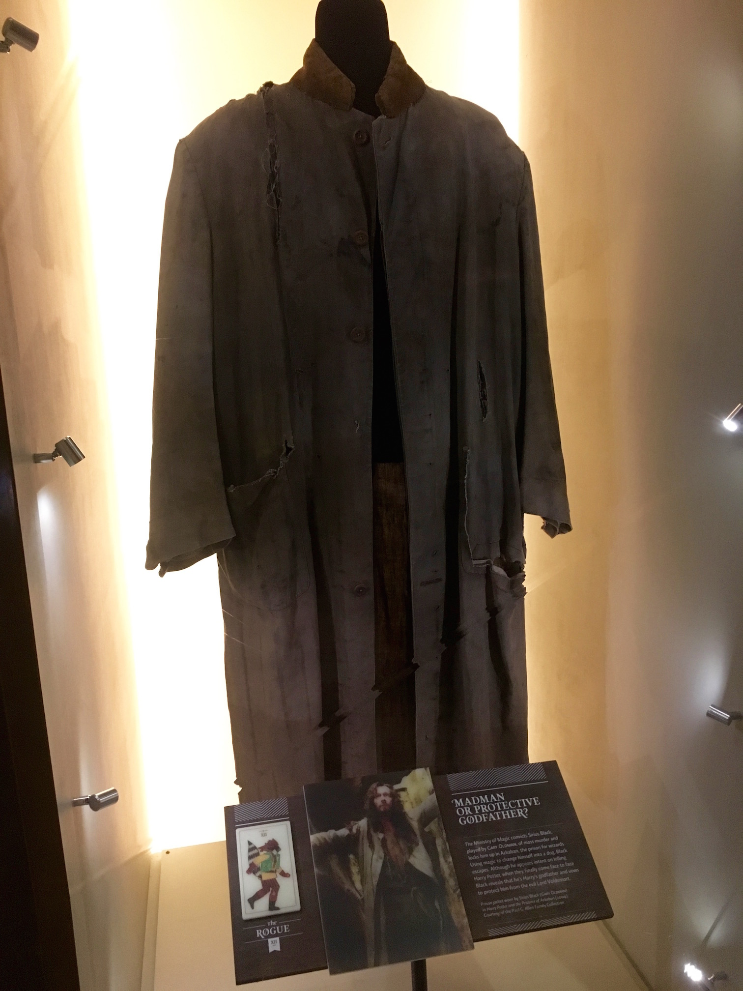 Sirius Black's robe at the EMP Museum