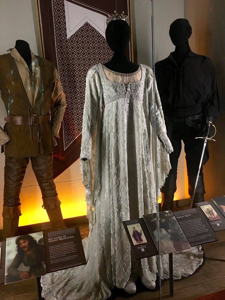 Costumes from  The Princess Bride  at the EMP Museum