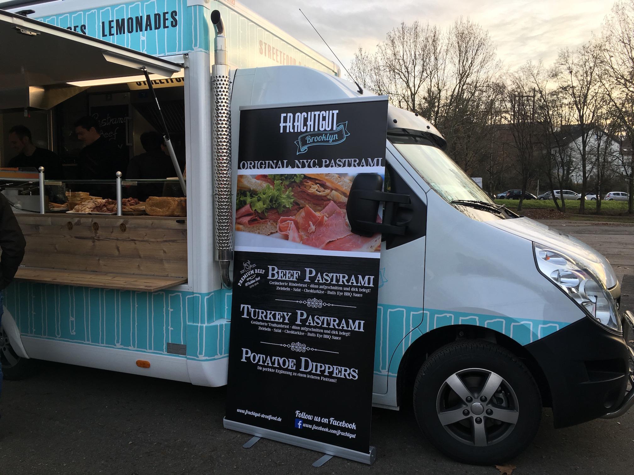 The  Frachtgut  food truck