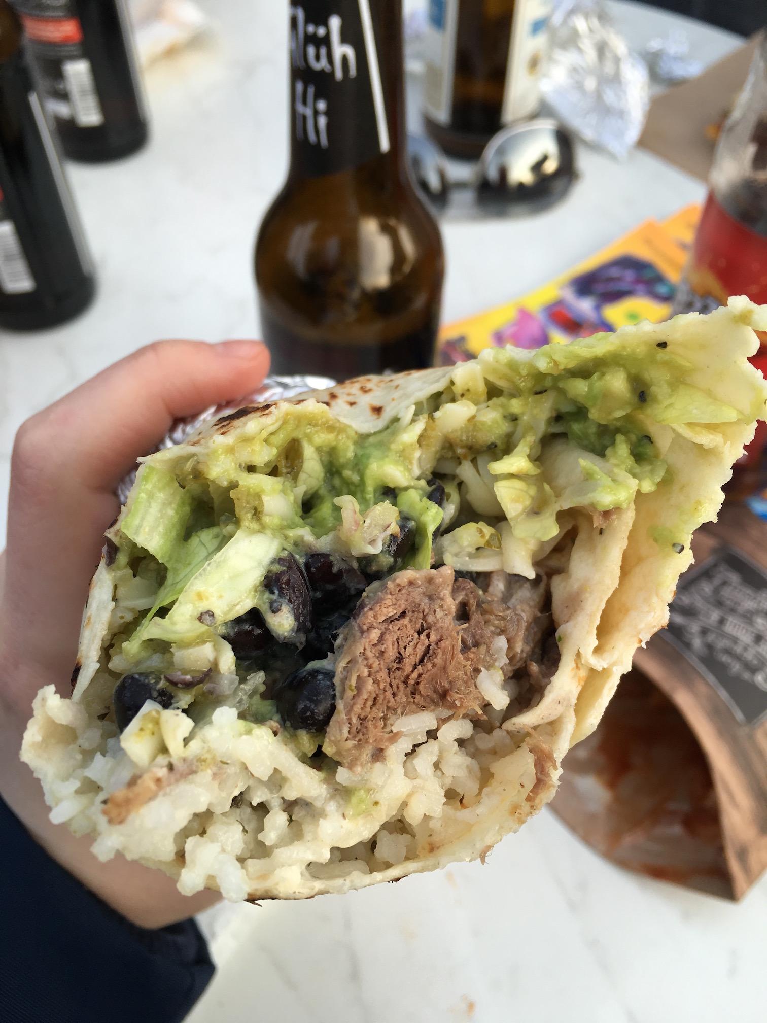 Burrito  from  La Jefa