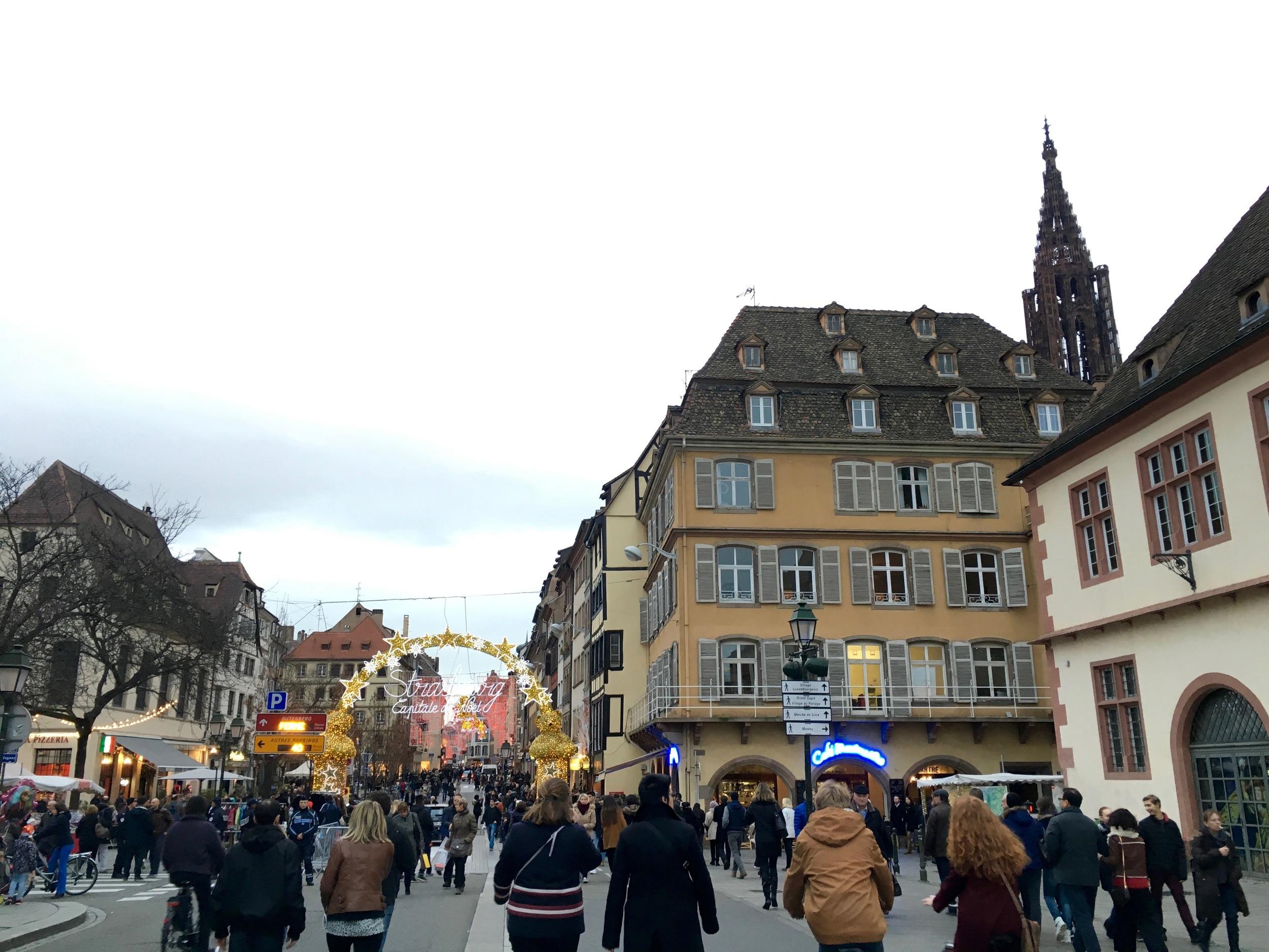 """Strasbourg, """"Capital of Christmas"""""""
