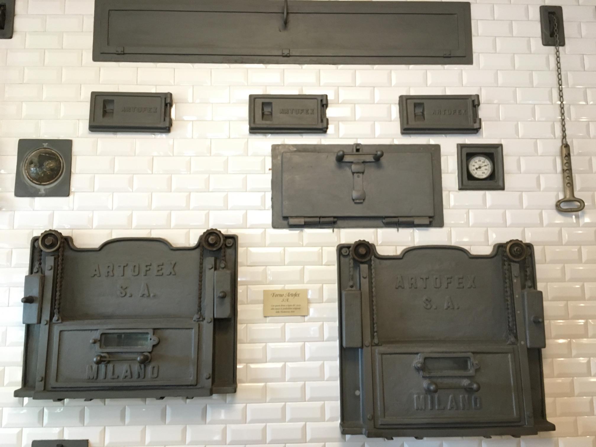 Many ovens inside  Antica Pasticceria Sieni