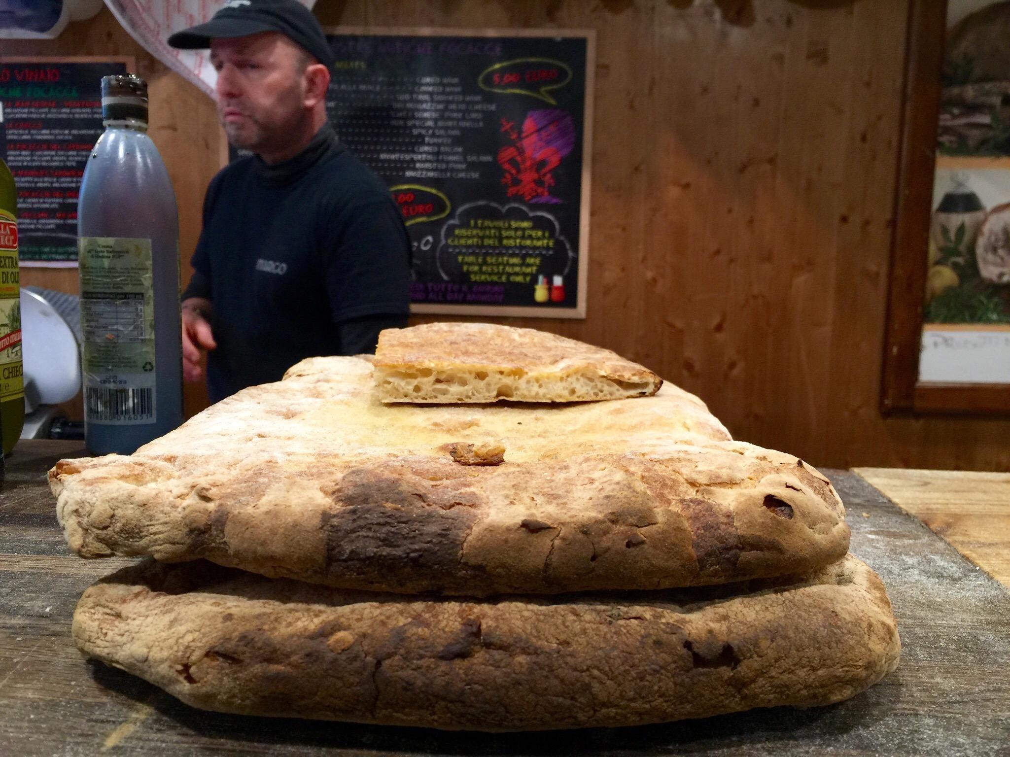 Bread at  All'Antico Vinaio