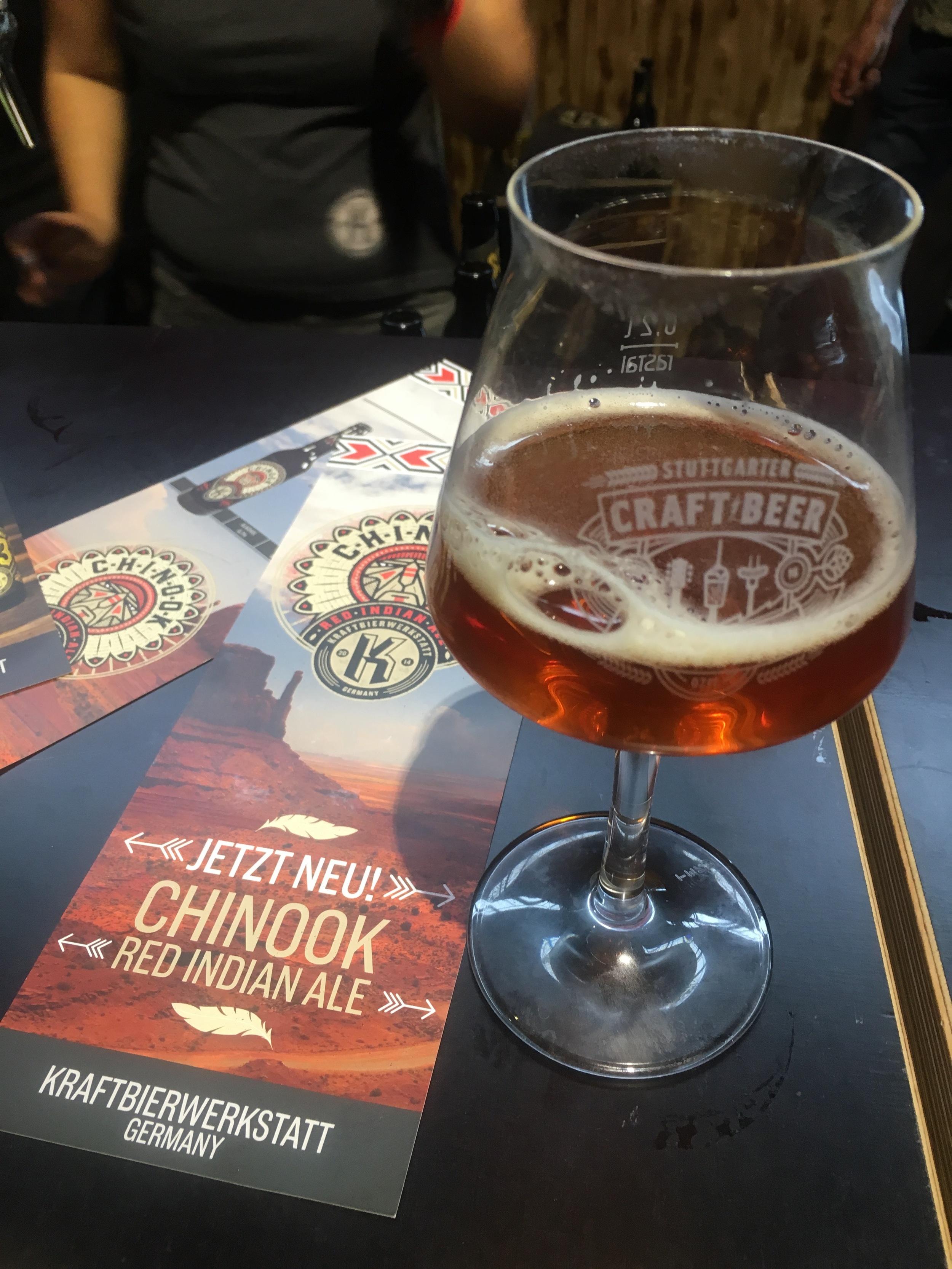 Kraftbierwerkstatt's Chinook Red Indian Ale