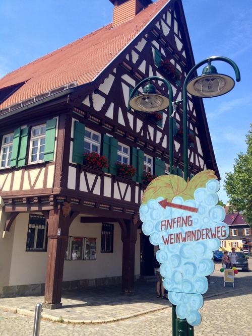 Along the  Weinwanderweg around  Esslingen
