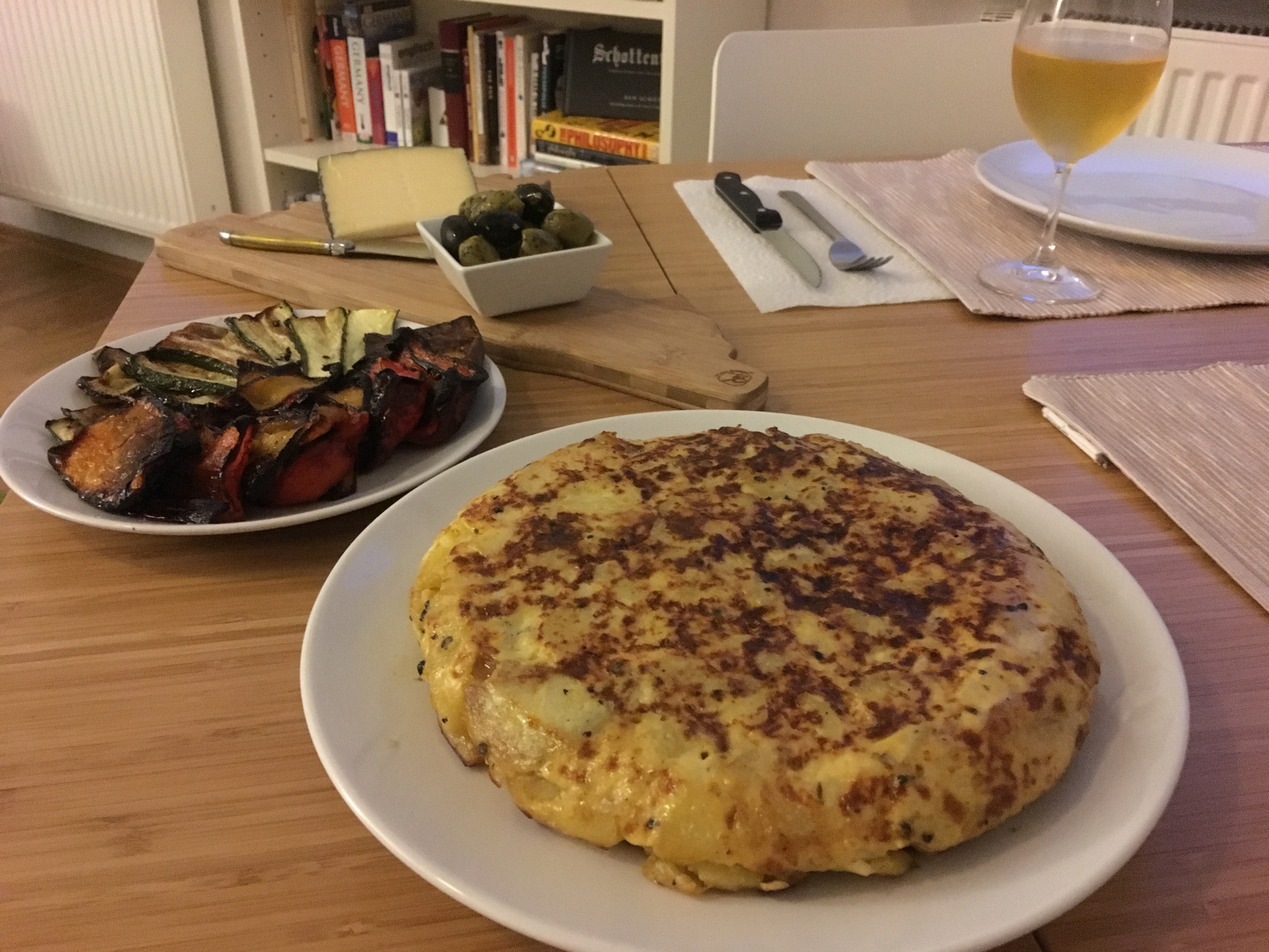 Our Spanish tapas with  tortilla
