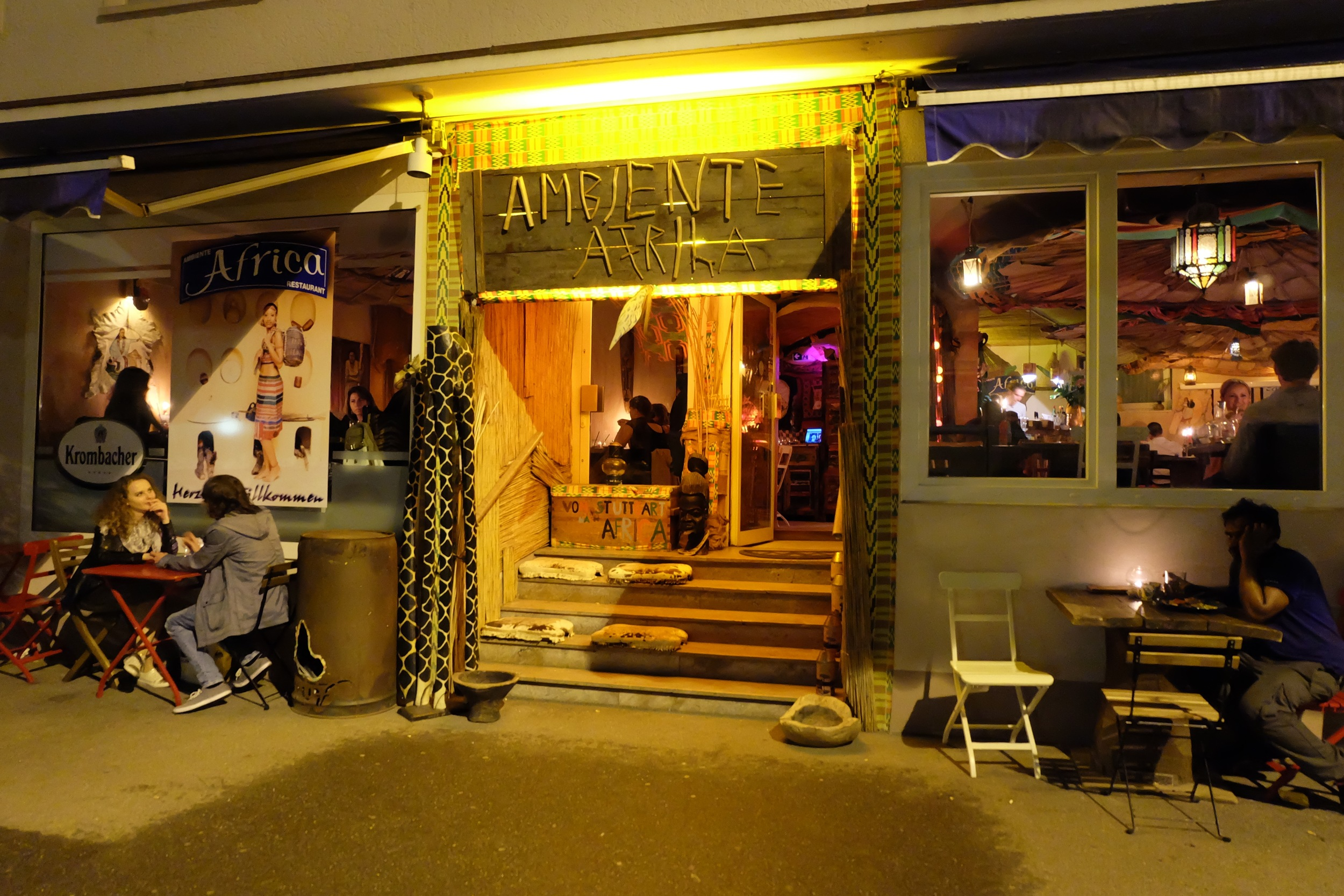 The entrance to Ambiente Africa