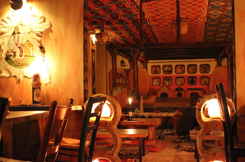 The interior of Ambiente Africa (photo from their website)