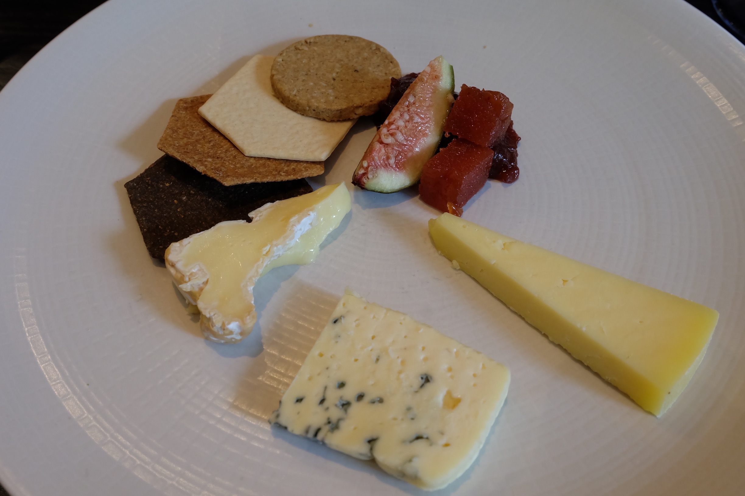 Course 4: Cheese Platter  at Hotel du Vin in Glasgow