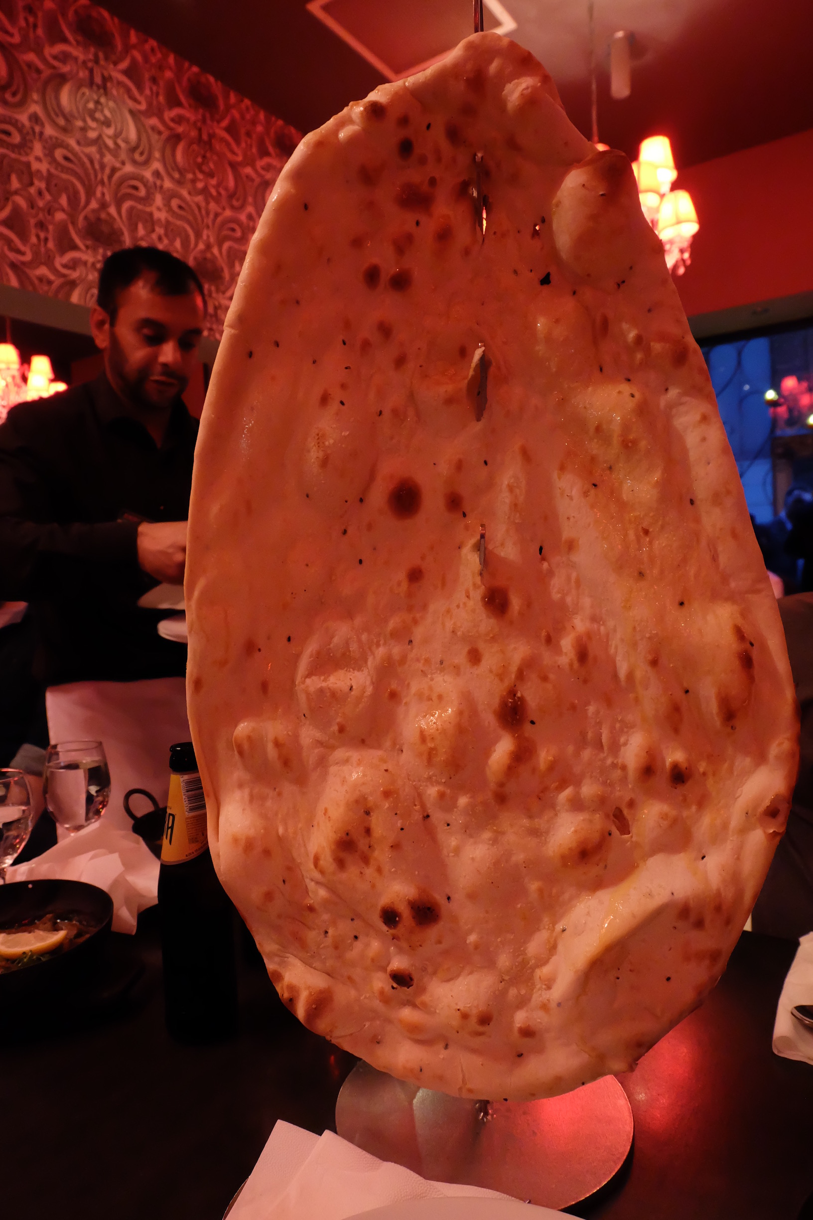 Family Naan at Akbar's in York