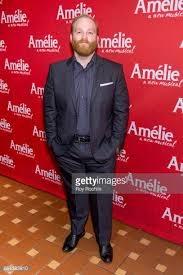 Jacob Keith Watson on opening night of  Amelie