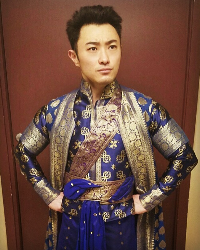 Marcus Shane as Prince Chulalongkorn in  The King and I