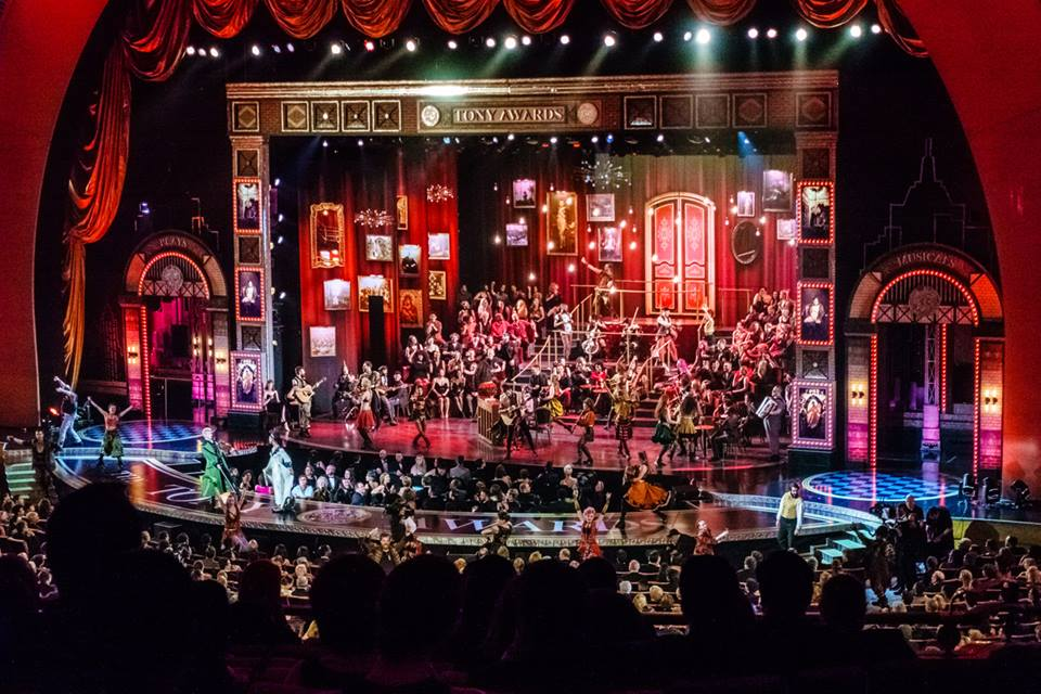 The Great Comet performs on the 2017 Tony Awards