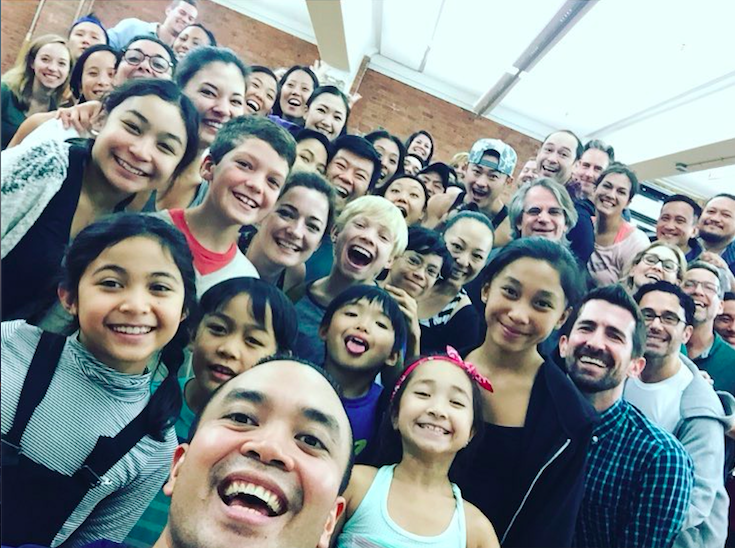 The touring company of  The King and I