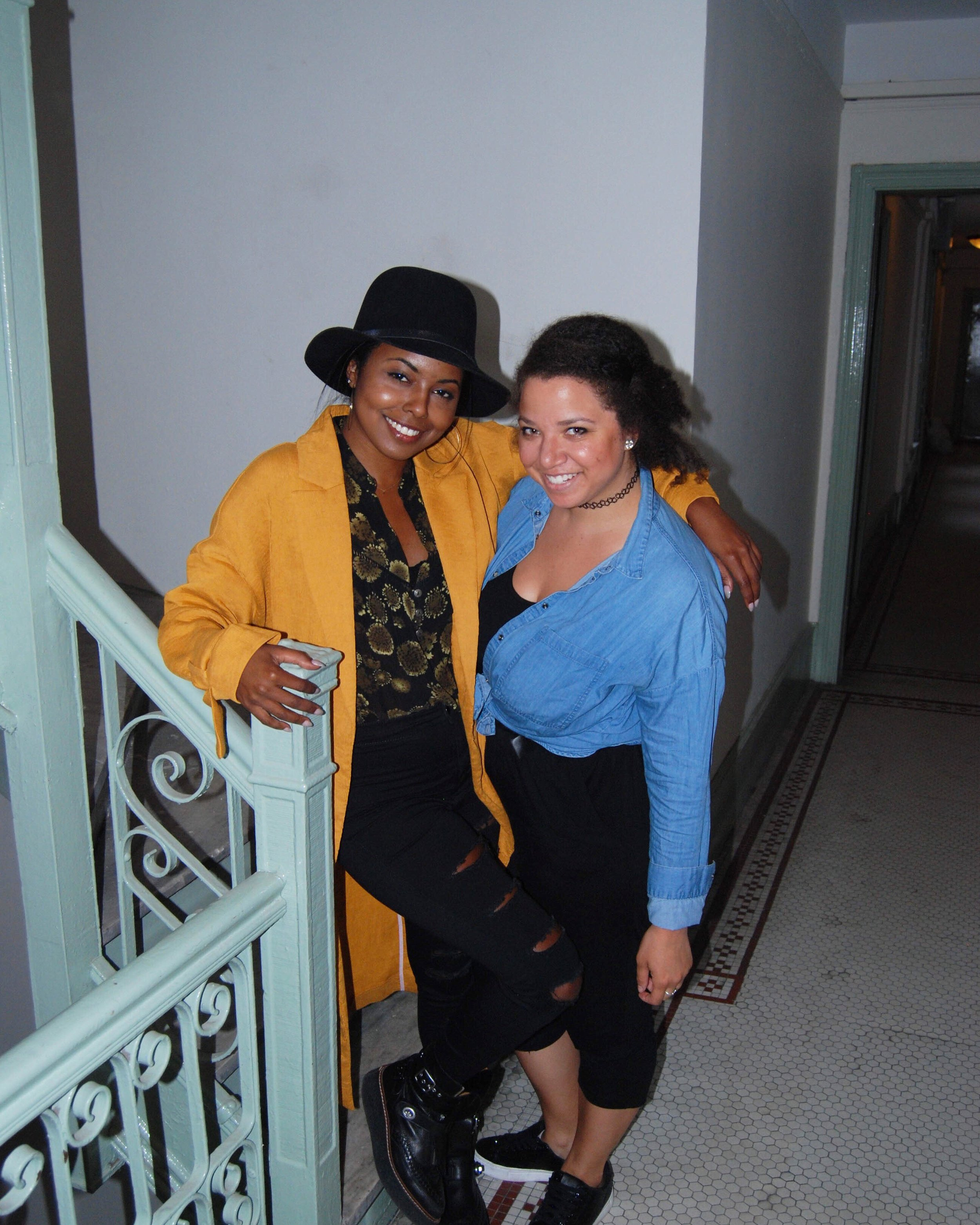Call and Response guest Adrienne Warren with Felicia Fitzpatrick