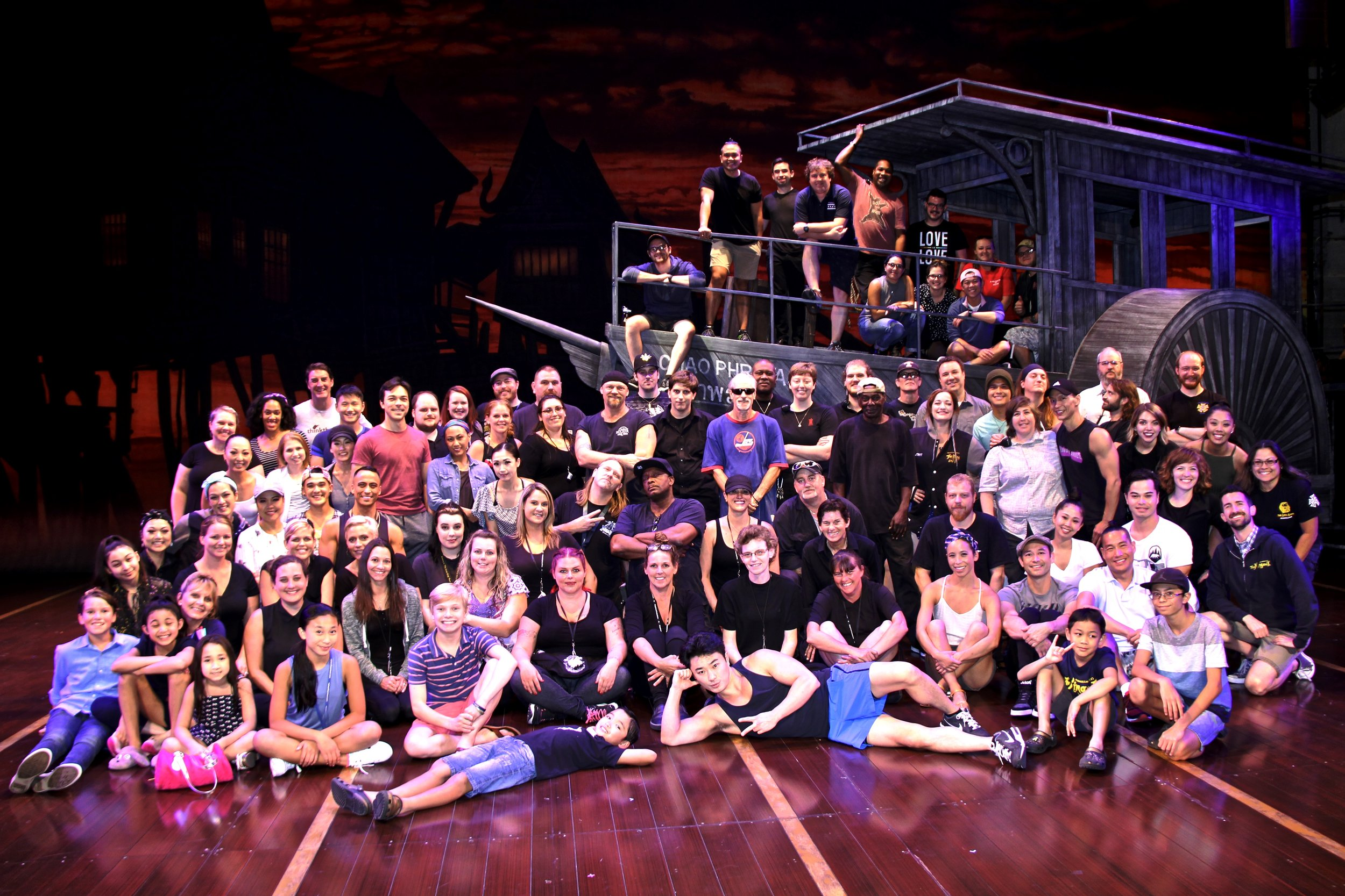 The  King & I  touring company celebrates their 300th performance