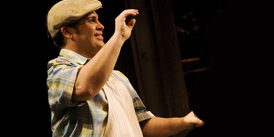 Eliseo Román as Piragua Guy in  In The Heights