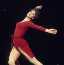 Donna McKechnie as Cassie in  A Chorus Line