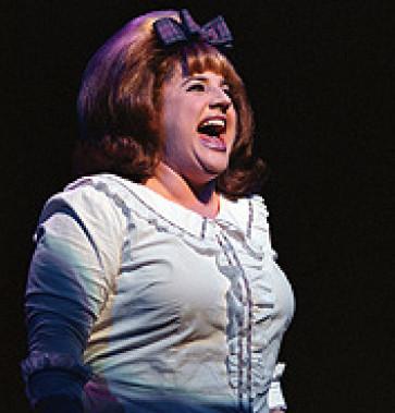 Marissa Jaret Winokur as Tracy Turnblad in  Hairspray