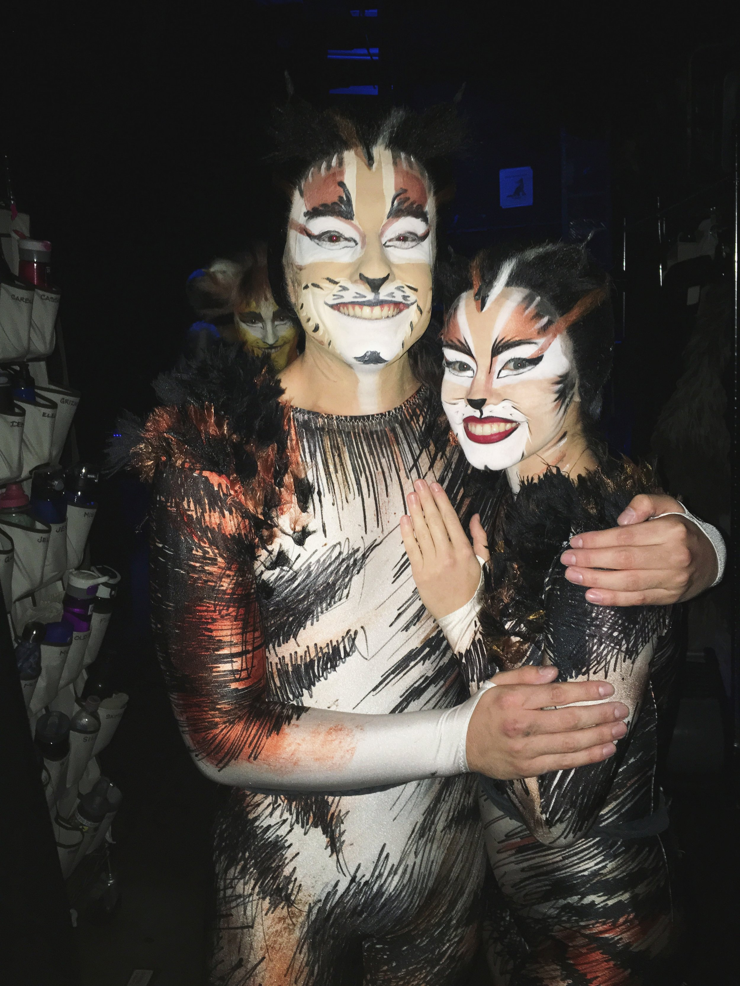 Joshua Burrage (with Emily Tate) in  Cats