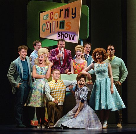 The original Broadway cast of  Hairspray