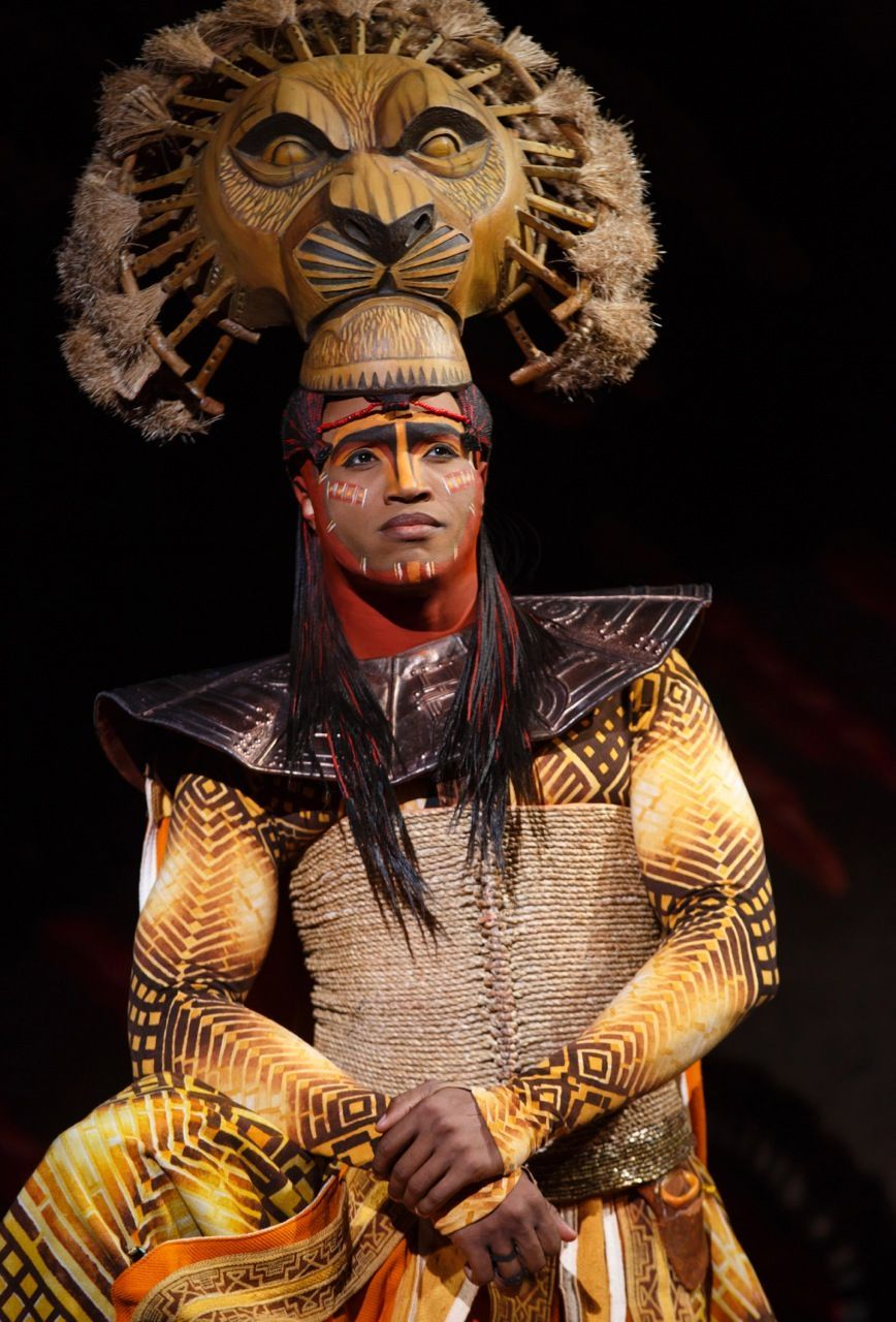 L. Steven Taylor as Mufasa in  The Lion King