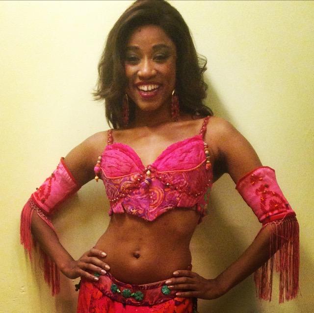 April Holloway in  Aladdin