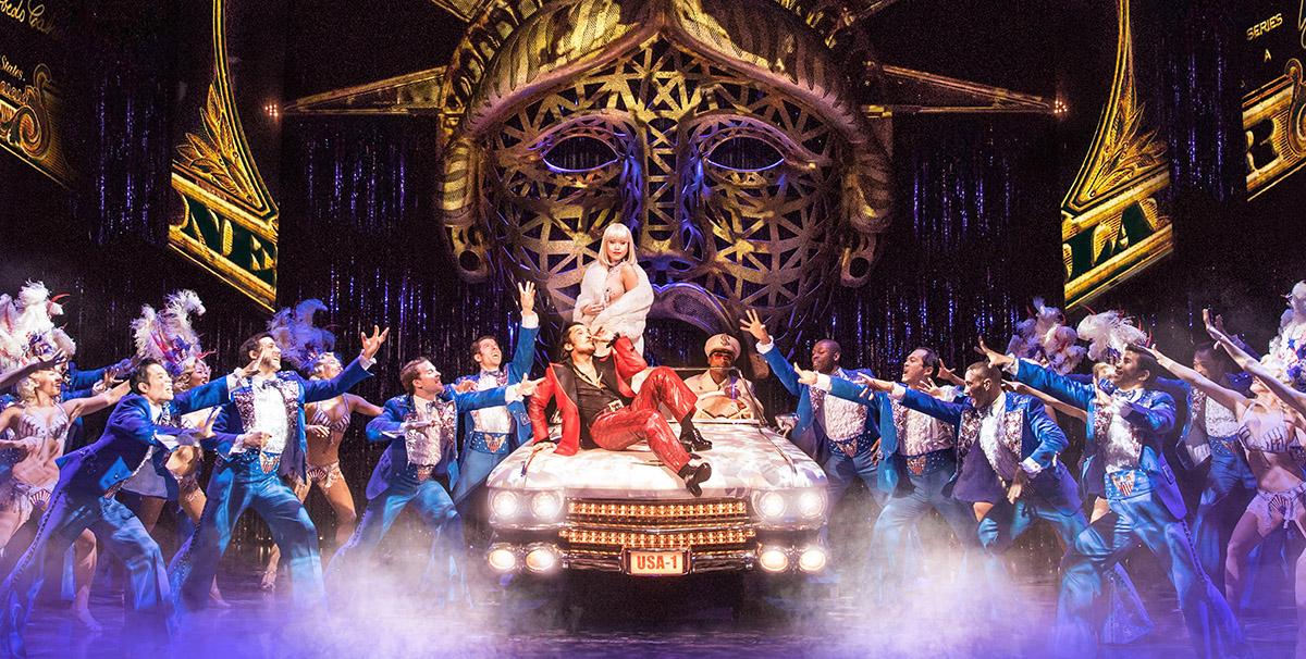 Julian De Guzman and the Broadway cast of  Miss Saigon