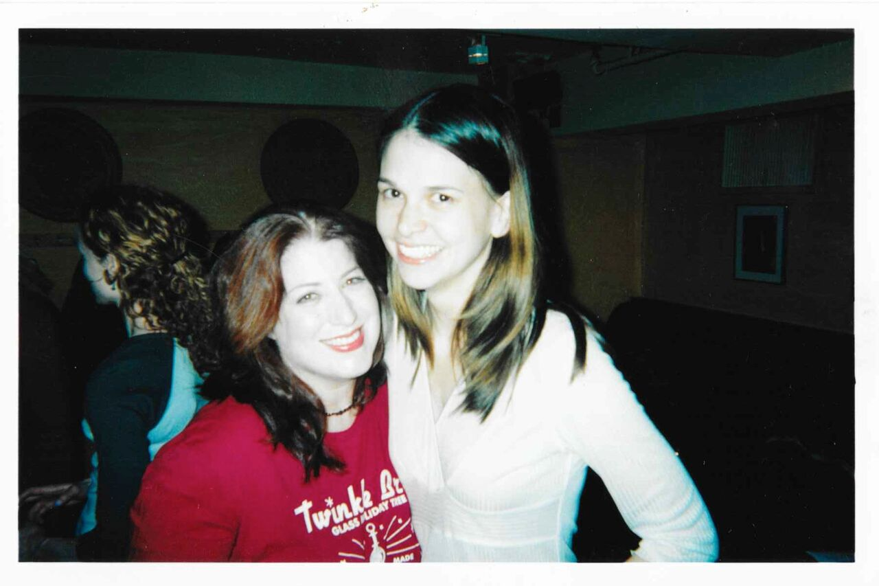 Anne L. Nathan and Sutton Foster