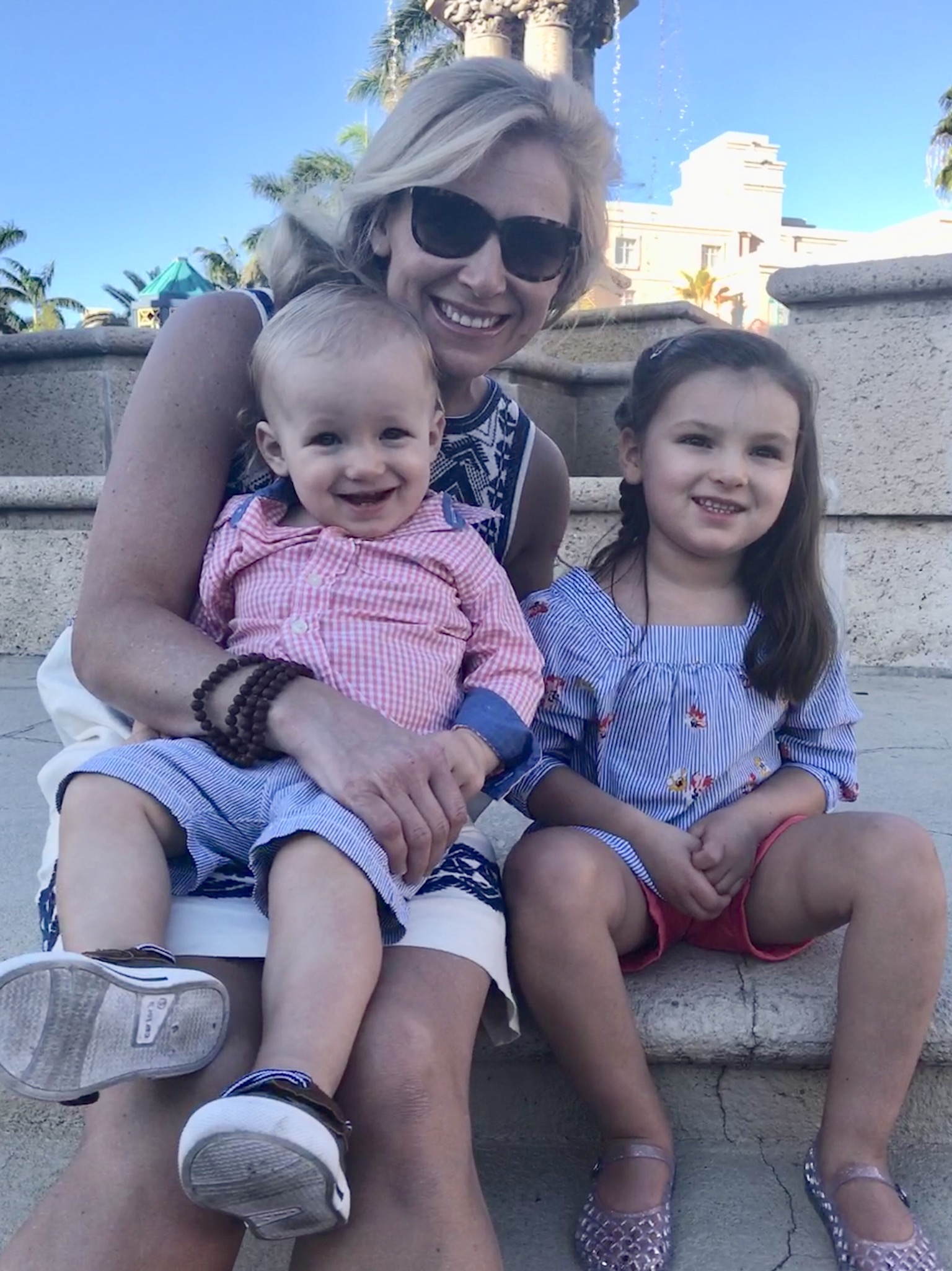 Cara Cooper and daughter, Elin and son, Finn