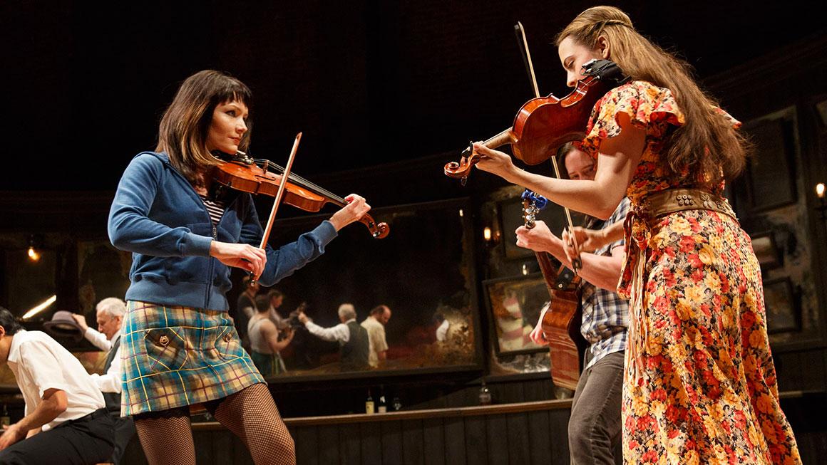 Katrina Lenk (left) in  Once