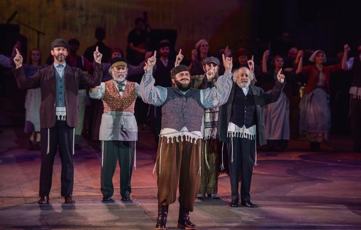 Fiddler on the Roof at The Muny