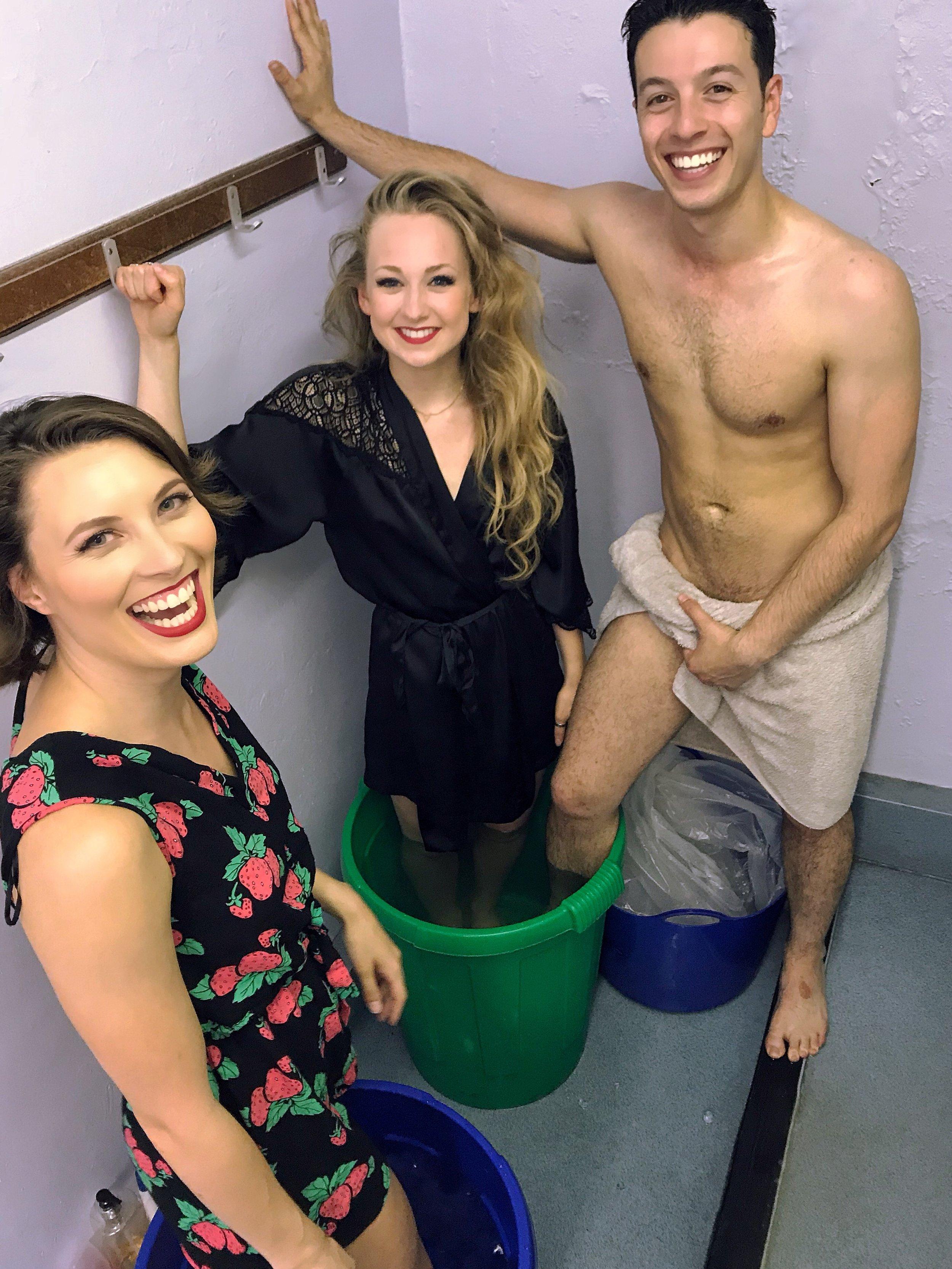Maria Garrett, James-Royden Lyley and Josephina Camble